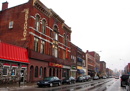 Downtown Napanee Ontario
