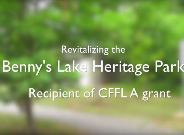 Benny's Lake Project - Cloyne - Funded by Community Foundation for Lennox & Addington