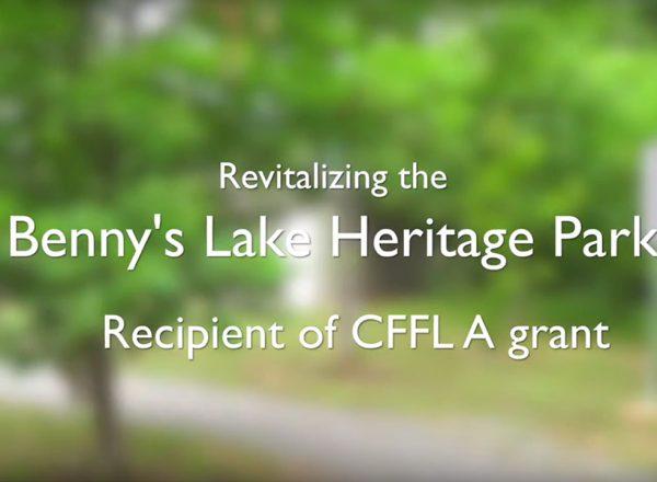 Benny's Lake Project - Cloyne - Funded by Community Foundation for Lennox & Addington