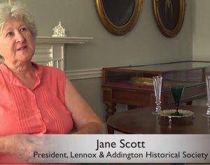 Lennox and Addington Historical Society President, Jane Scott