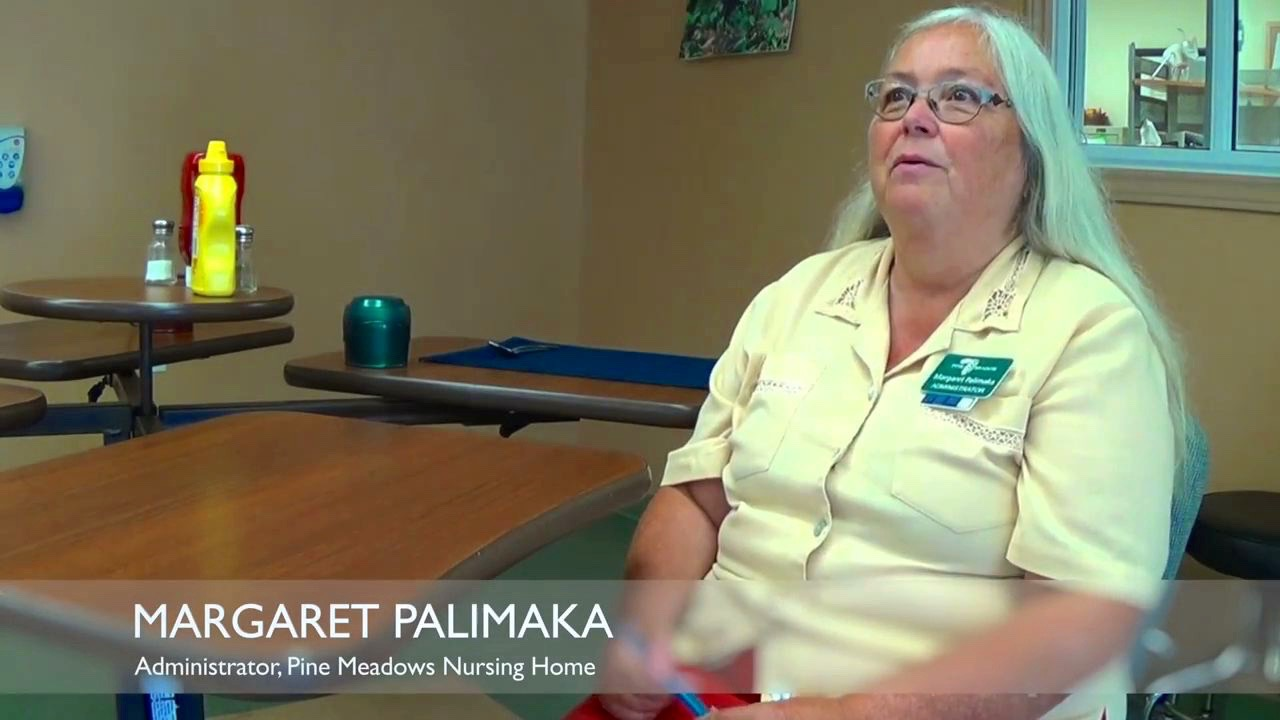 Margaret Palimaka - Administrator of Pine Meadow Nursing Home in Northbrook Ontario.
