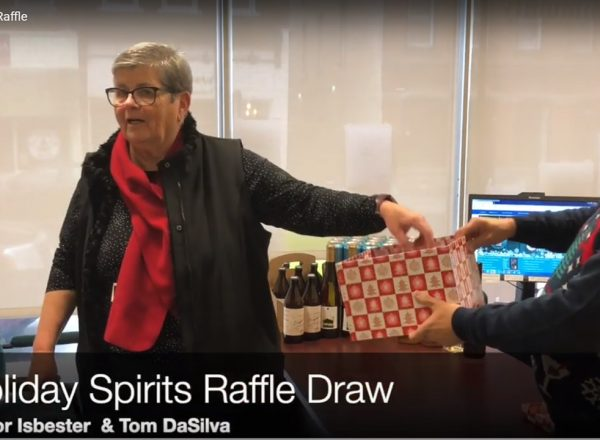 CFFLA Holiday Spirits Raffle 2018